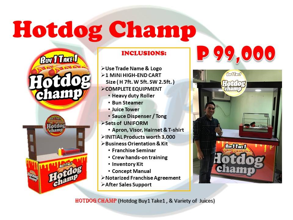 hotdog champ franchise